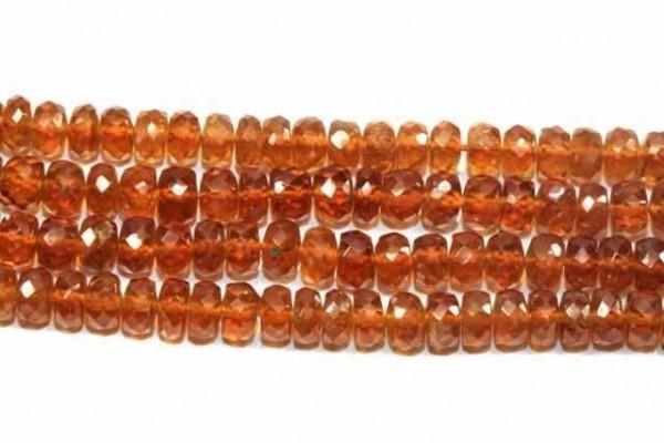 Buttonstrang fac. 4-4,5mm/40cm, Mandarin-Granat