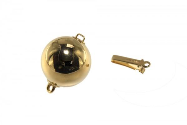 14mm Kugelschließe, AGV 925 poliert