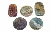 Kröten-Amulett mit Bohrung, 40mm, Achat