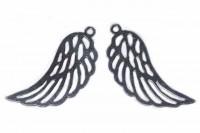 Flügel 6x16mm aus AG 925 rhodiniert*