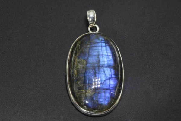 Donuthalter 1 quadratisch 1n 925 Silber vergoldet`` Mineralien Fossilien Stein