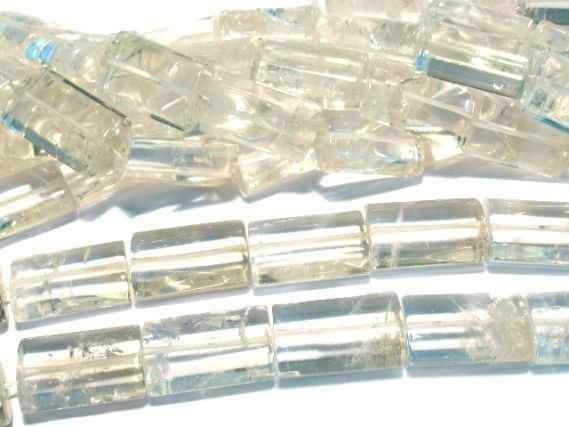 Rechteckstr.gewölbt 15x24/40, Bergkristall