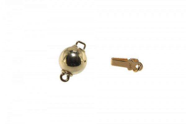 8mm Kugelschließe aus poliertem AGV 925