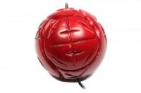 Dragon-Ball mit Bohrung, 30mm, Koralle gefärbt