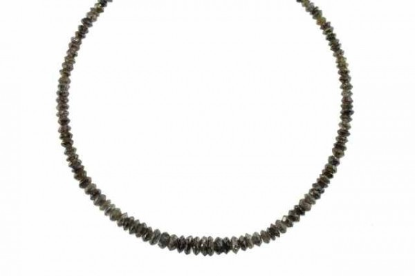 Linsenstrang facettiert2,5-5mm/40cm, Diamant multicolor