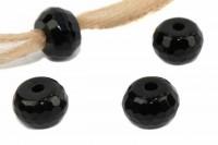 fac. Button mit 3mm Bohrung, 10mm, Onyx