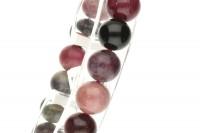 Turmalin multicolor Kugel-Armband 8-8,5mm/19cm