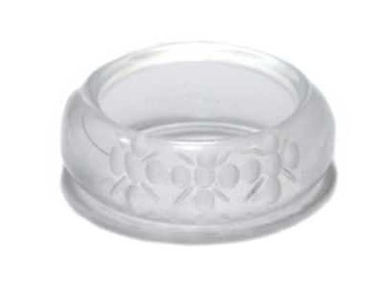 Bergkristall syn. Ring mit Gravur 8mm gem. Größen