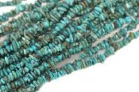 Splitterstrang 40cm, Türkis A- natur