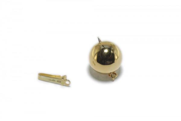 12mm Kugelschließe, AGV 925 poliert