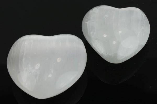Herz 40-60mm, Selenit A