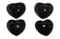 Herz 55x48x27mm, Regenbogen Obsidian